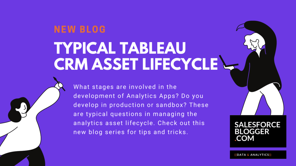 Typical Tableau CRM Asset Lifecycle