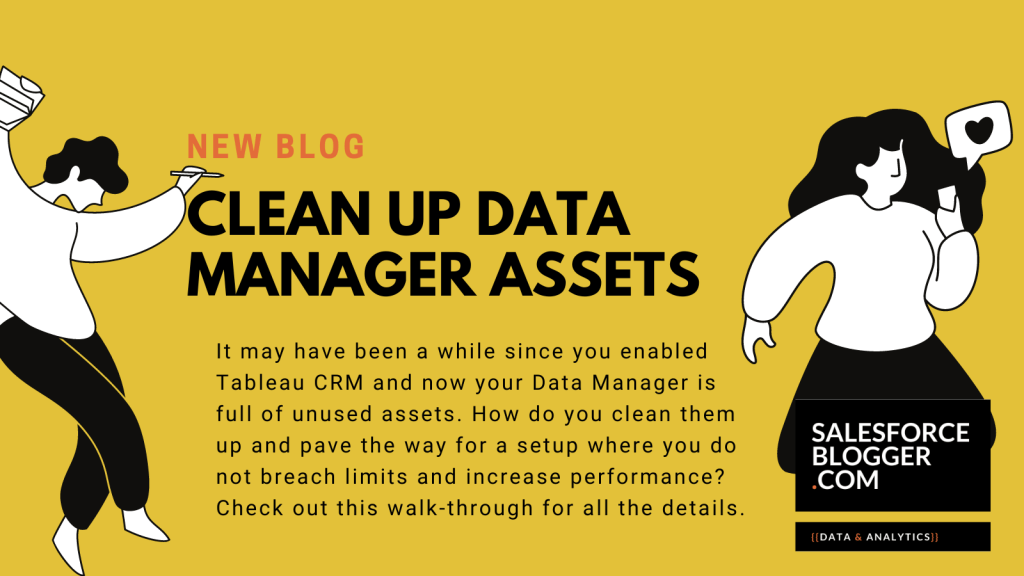 Clean up Data Manager Assets