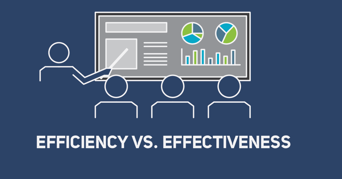 Efficiency vs Effectiveness  Sales Hacker