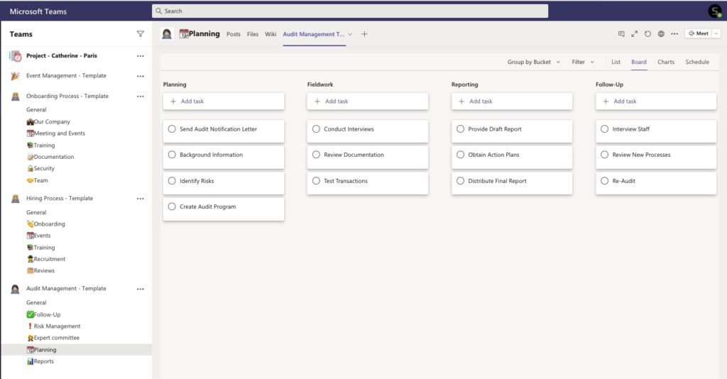 With word's existing template library, you can create a schedule,. Microsoft Teams With Planner Templates The List Of 15 Examples Salestim