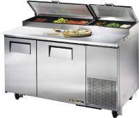 True TPP-60 Pizza Prep Table, 300 series top, 2 doors ...
