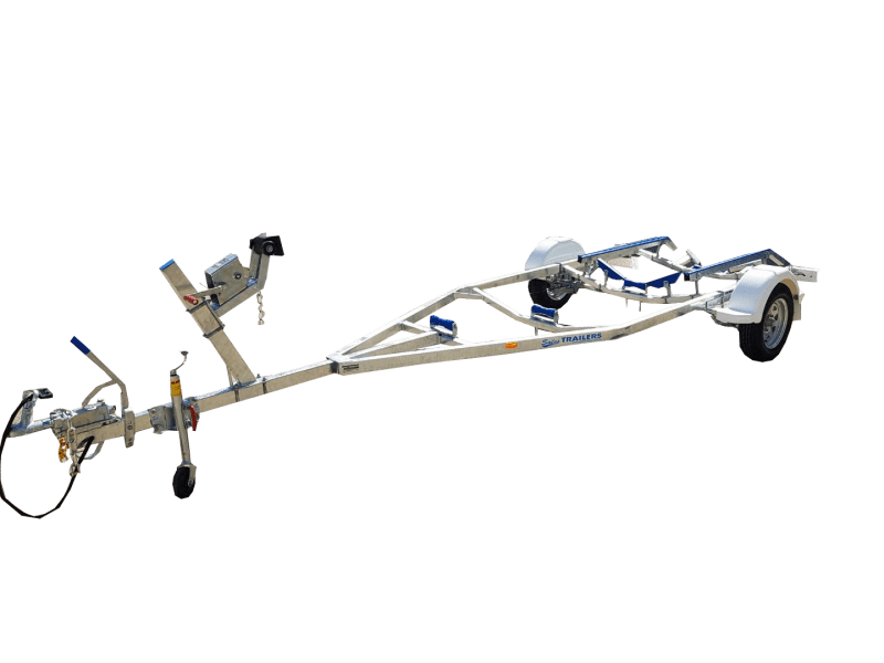 Poly Skid Boat Trailer (Single Axle, V Guide) » Sales