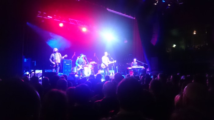 Jason Isbell and his band at the O2 Ritz in Manchester