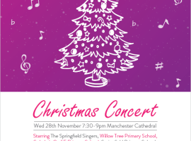 Upcoming: Christmas concert for children's cancer research charity
