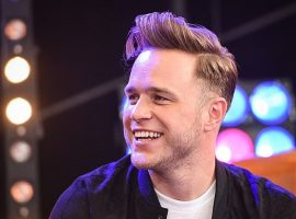 Olly Murs visits Salford School ahead of the Premier League Writing Stars competition