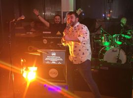 Salford students' union combines dancers and live music to create Disco Bingo