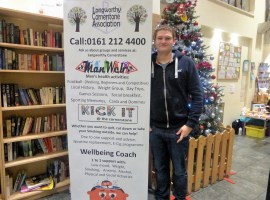 The new Well-Being Coach at Langworthy Cornerstones Dan Shenton