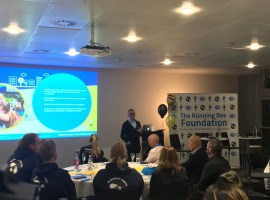 The Running Bee Foundation launched last night in Salford