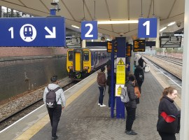 Northern Rail blame leaves for Salford transport disruption