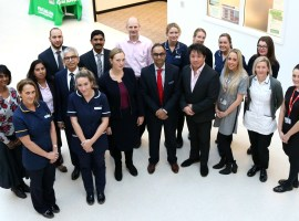 Salford Royal Hospital launches one of Europe's largest cancer surgical centres