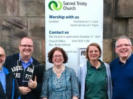 'We don't believe God is condemning gay people'- says rector of Salford church