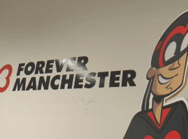 Salford Graphic Designer Trevor Johnson recreates Manchester's club magic for charity