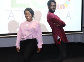 ECO Africa brings fashion show for gorillas to Salford University