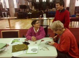 St Andrew's Church in Eccles welcomes over-50s for weekly arts and crafts