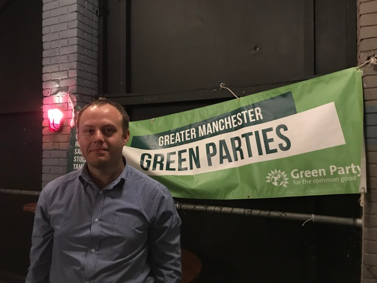 Bryan Blears Salford Green Party