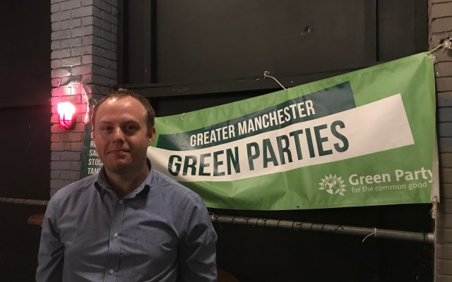 Salford Green Party and Natalie Bennett on '12 years to save the planet'