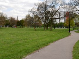 Ordsall park where the event will take place.