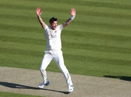 CRICKET: Honours even as Anderson takes five against Worcestershire