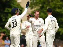 CRICKET: Rain thwarts day two at Cheltenham