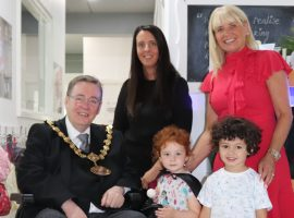 Ceremonial Mayor pays visit to Salford nursery