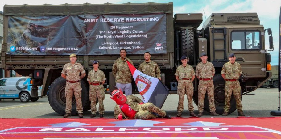 Salford Red Devils to host Armed Forces day this Sunday