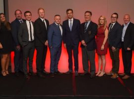 The Salford Sports Network Awards team