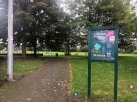 Cadishead Park. Photograph taken by Lily Harris.