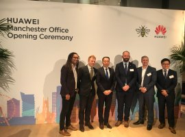 Huawei announce the opening of their new offices in MediaCityUK