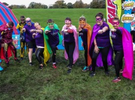 Salford charity tackles obstacle course for cancer research