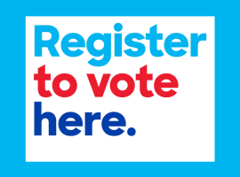 Copyright link - https://commons.wikimedia.org/wiki/File:Register_to_vote_here._1.png