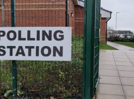 A polling station in Broughton. Image Credit - Matthew Lanceley
