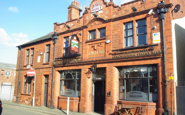 Eagle Inn, Salford #1. Formerly Lamp Oil by Adam Bruderer on Flickr. Used under CC BY 2.0