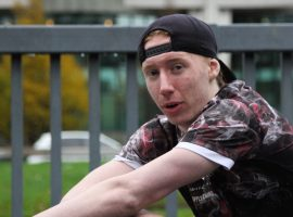 Salford-born Freerunner Amy Harcourt has found her confidence through the art of Parkour. Image credit: Cari Morris