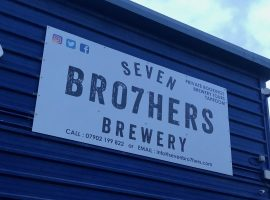 The Seven Bro7hers Brewery in Weaste. Credit: Rachel Birtwistle