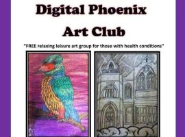 Digital Phoenix Art Group offers eTherapy in Salford