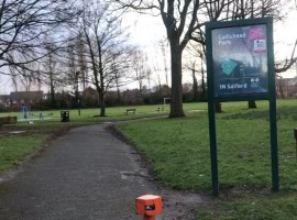 Local Councillor speaks on the severe litter problem in Salford