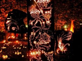 The Fire Garden Show. Image Credit: Photograph by Nathan Jackson