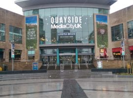 The Lowry Outlet will be redeveloped and rebranded as Quayside MediaCityUK, set to open in Autumn 2020.