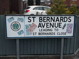 St Bernards Avenue have raised almost £500 for the NHS.