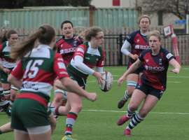 Laura Perrin in action. Credit: Sale Sharks