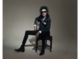 The Bard of Salford himself Dr. John Cooper Clarke. Credit: Sonic PR