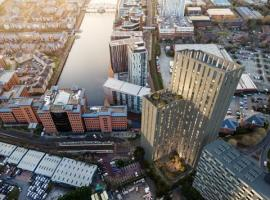 290 new homes in Salford Quays as plans for £75 million tower approved