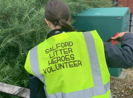 'Litter picking has saved their life': how doing an hour of litter picking can improve your mental health