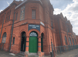 Salford lads club. Image credit: Google Maps