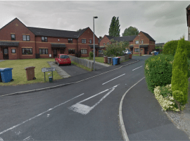 On December 4th 2018 a man was shot on his doorstep in Lower Broughton. Two years later the shooter remains unidentified. Credit: Google Maps  Salford Unsolved Shooting
