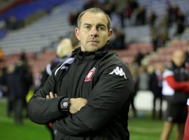 Salford Reds Head coach Ian Watson after the Betfred Super League semi final match at the DW Stadium, Wigan.
