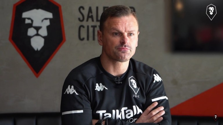 Richie Wellens, Salford City Manager