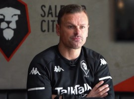 Salford City manager Richie Wellens - Source: https://www.youtube.com/watch?v=jOpoyggFg-Y&ab_channel=SalfordCityFC