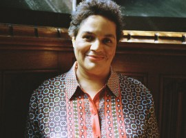 Jackie Kay by Claudia Alonso (2015) University of Salford Art Collection