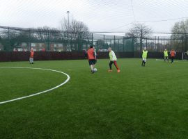 """Football keeps me alive"" – How a walking football group in Salford is helping people during the pandemic"